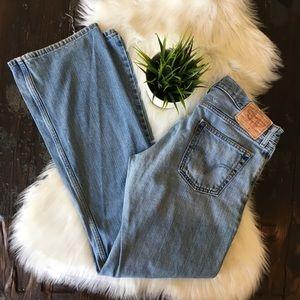 LEVI'S 527 Low Boot Cut Jeans Men's 34 x 34 EUC